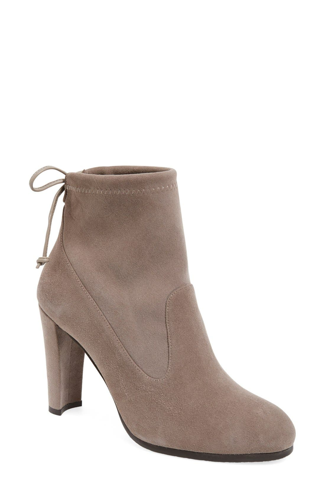 'Perfection' Bootie,                             Main thumbnail 1, color,                             Topo Suede