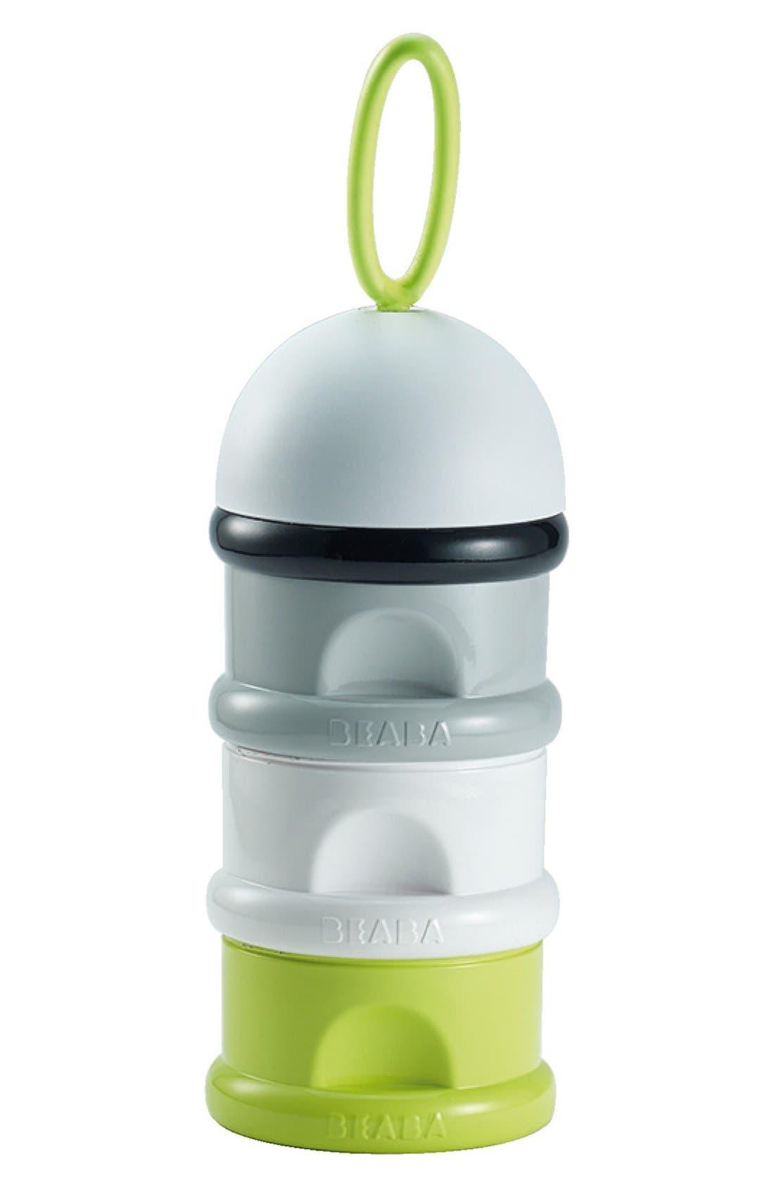 Formula & Snack Container,                         Main,                         color, Neon
