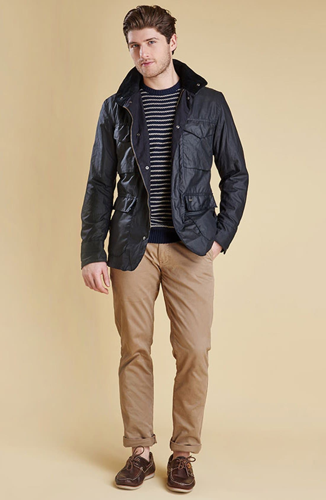 Alternate Image 6  - Barbour 'Sapper' Tailored Fit Weatherproof Waxed Jacket