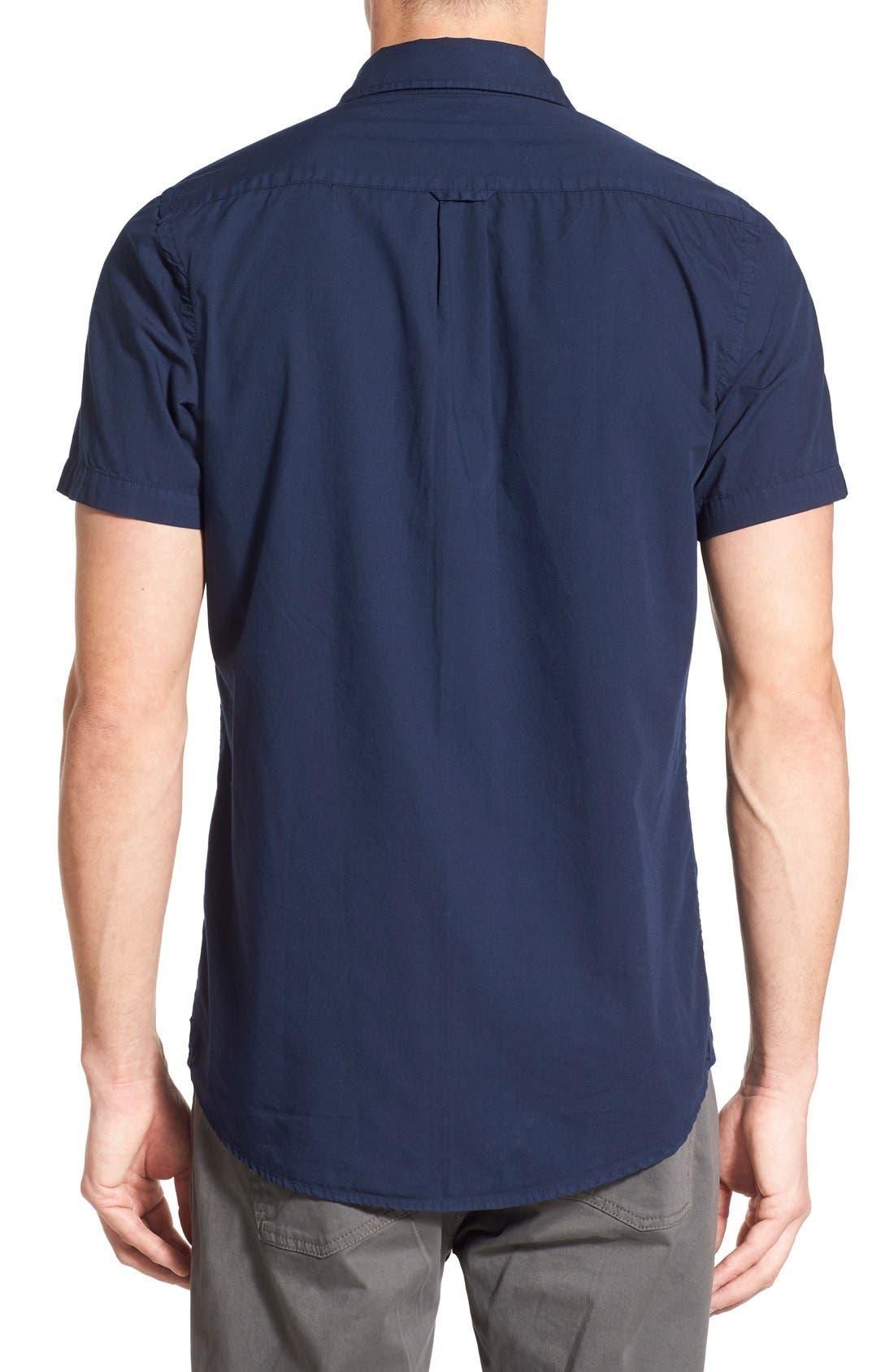 Alternate Image 2  - Original Paperbacks 'Torino' Short Sleeve Woven Shirt