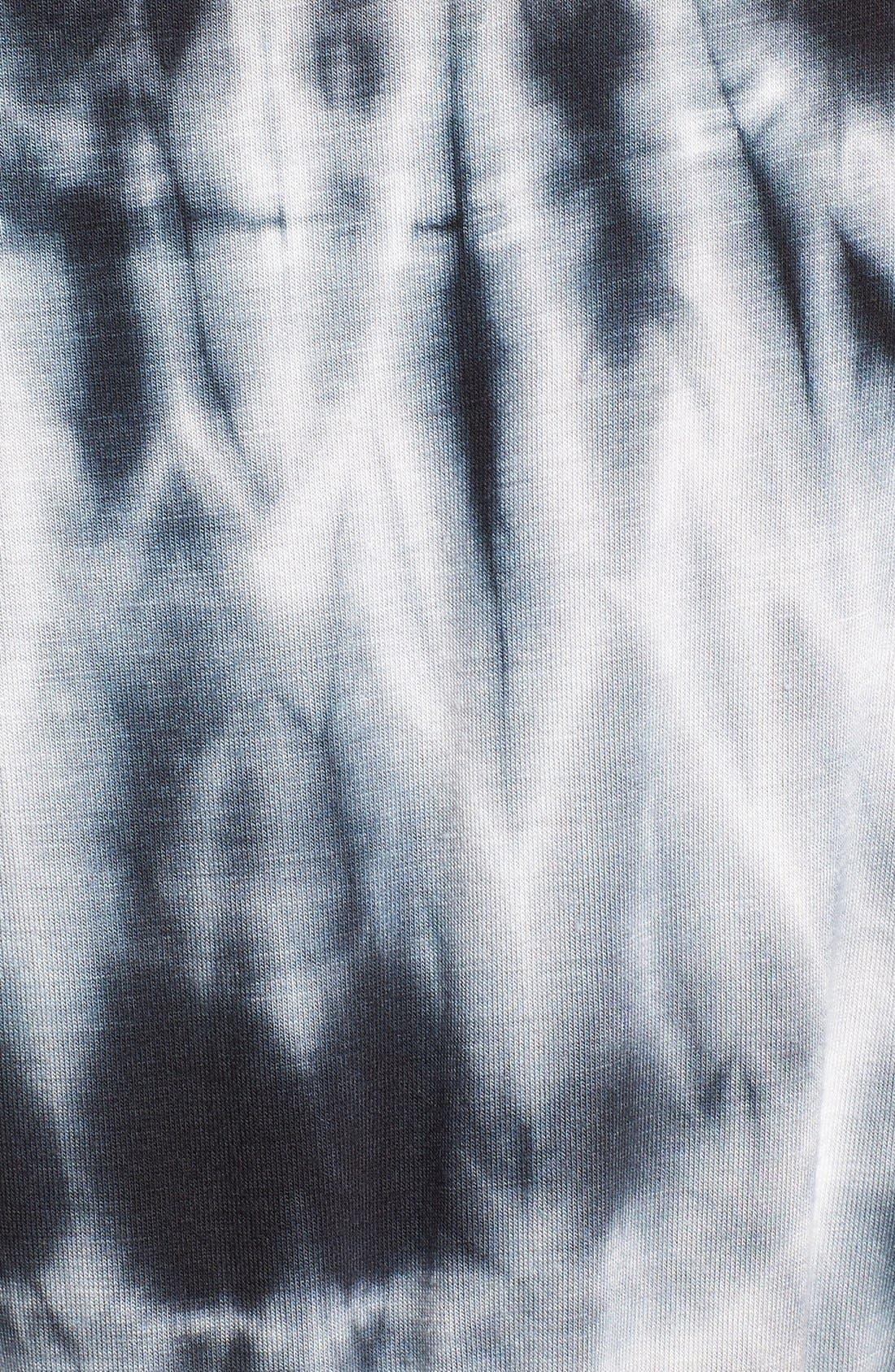 Alternate Image 5  - Fraiche by J Tie Dye Faux Wrap Maxi Dress