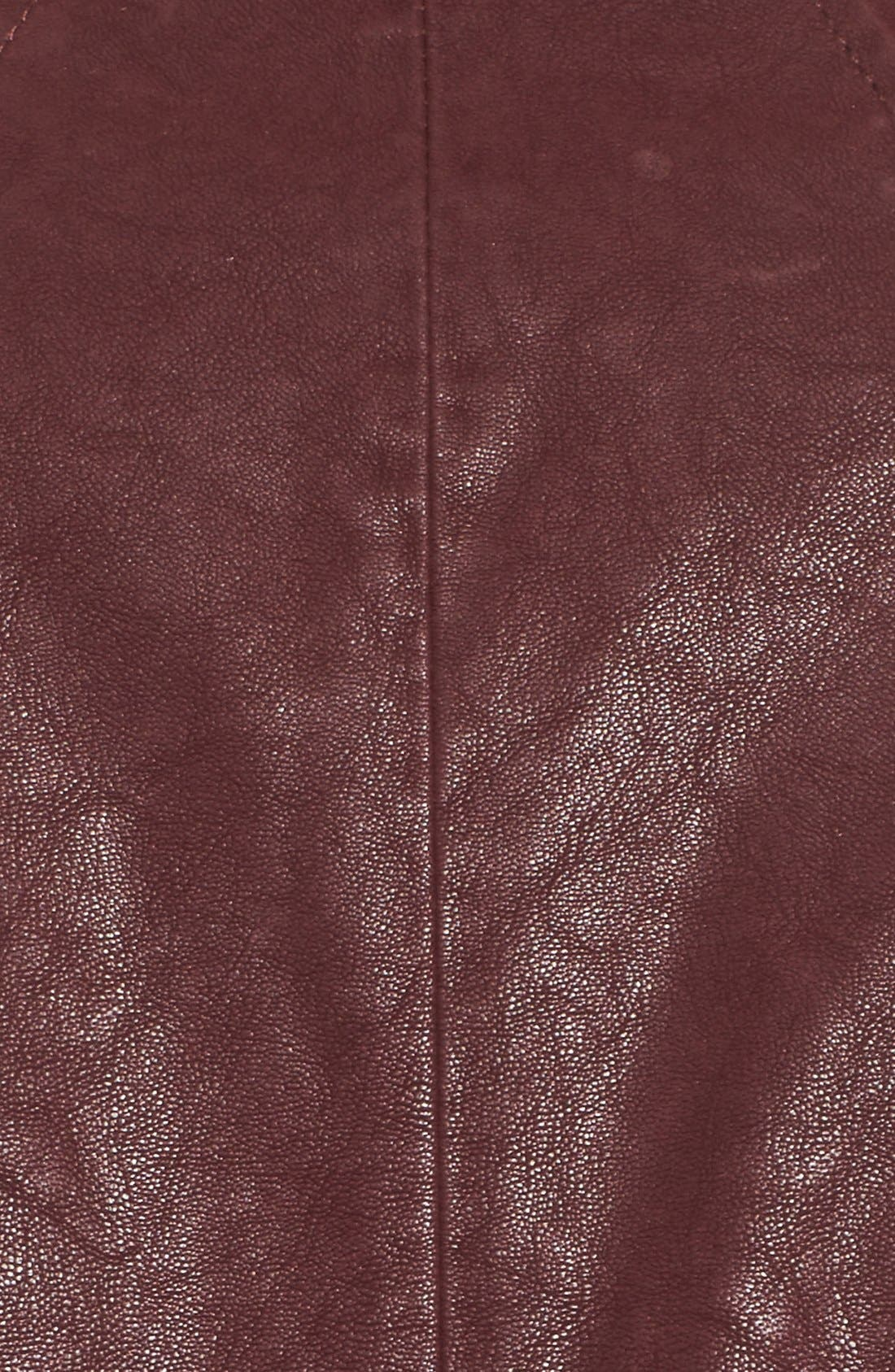 Alternate Image 5  - GUESS Faux Leather Moto Jacket with Faux Fur Trim