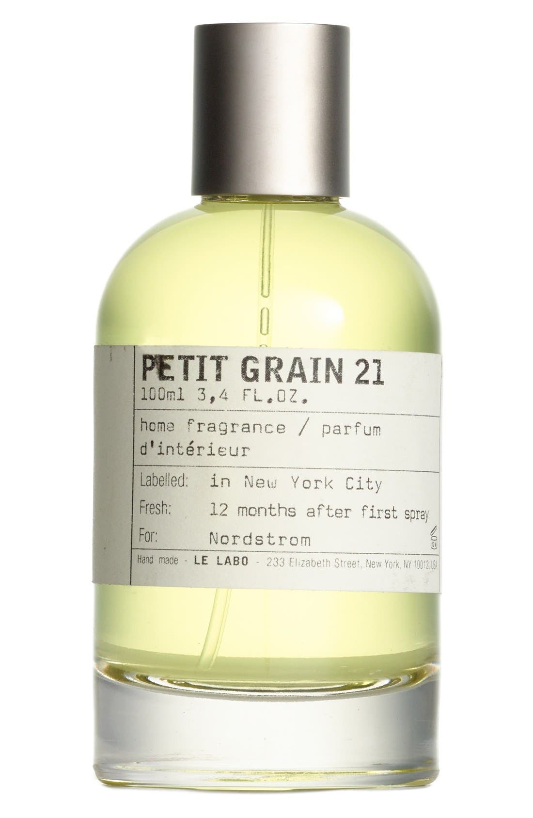 'Petit Grain 21' Home Fragrance Spray,                             Main thumbnail 1, color,                             No Color