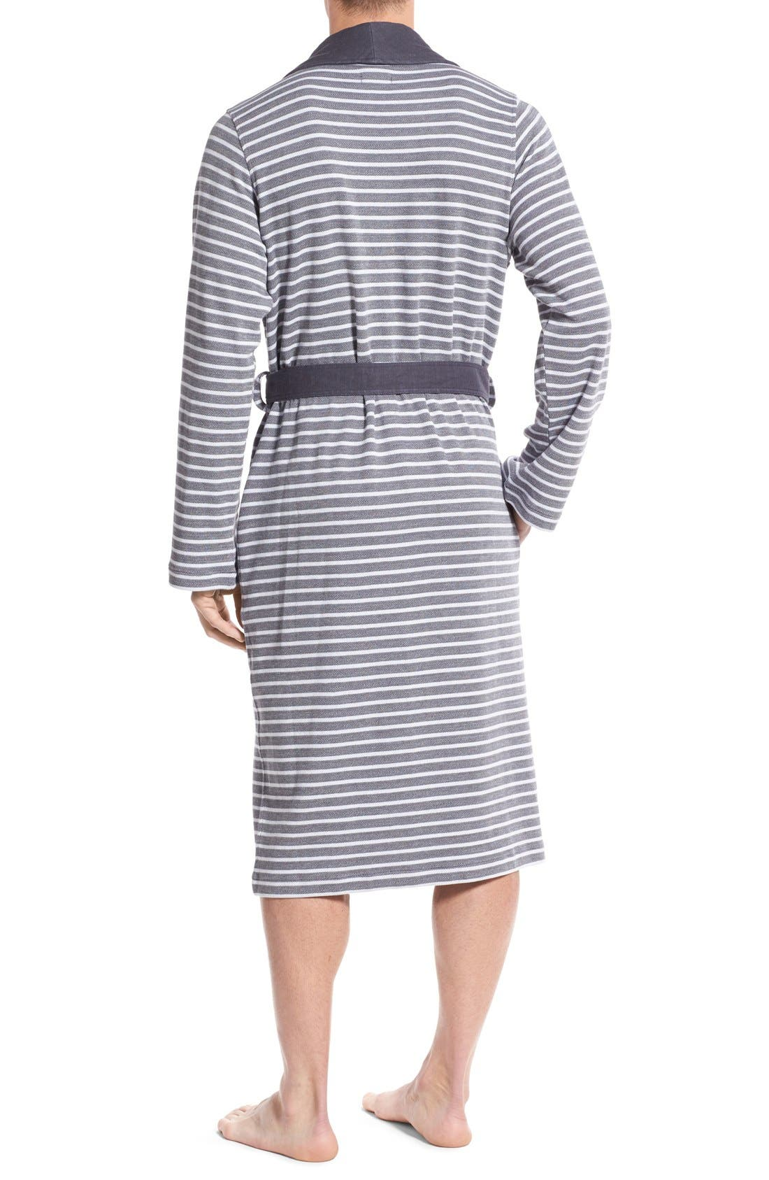 Alternate Image 2  - BOSS 'Maritime' Shawl Collar Robe