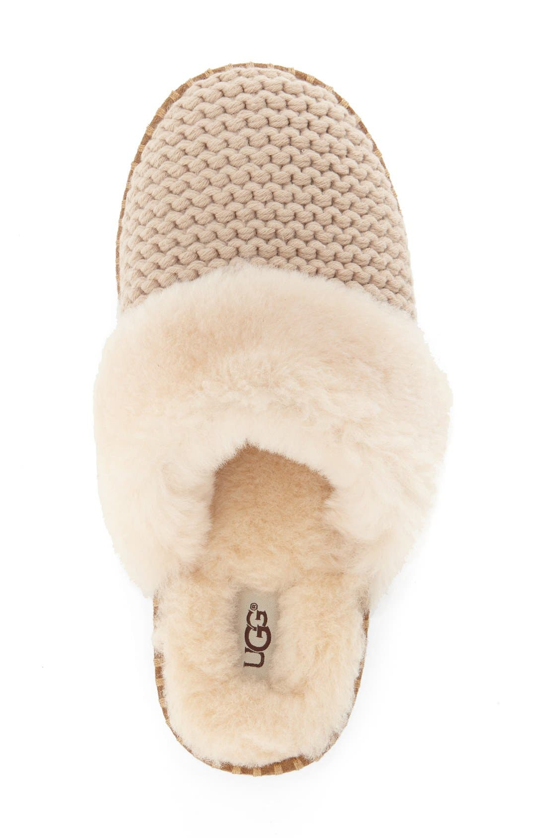 Alternate Image 3  - UGG® Aira Knit Scuff Slipper (Women)