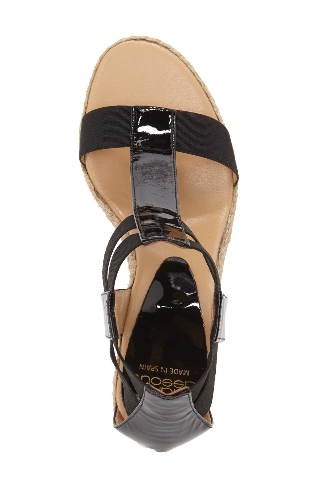 Alternate Image 3  - André Assous 'Pippi' Espadrille Wedge Sandal (Women)