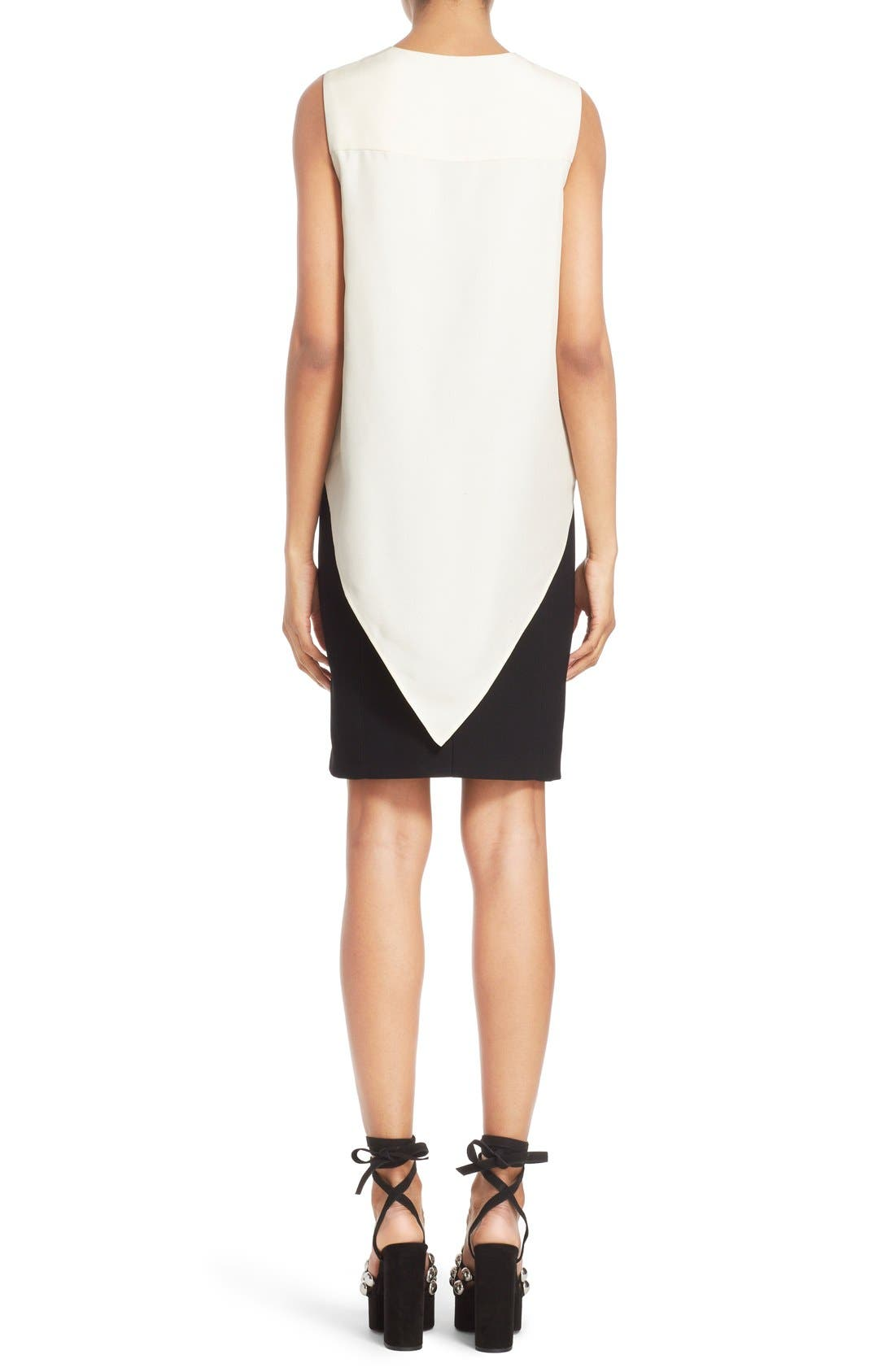 Alternate Image 2  - Alexander Wang Drape Front Dress