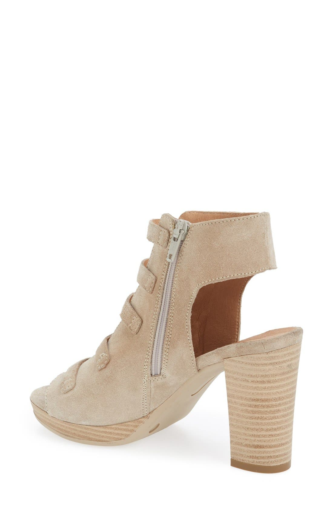 Alternate Image 2  - Kenneth Cole New York 'Kennedy' Buckle Strap Block Heel Sandal (Women)