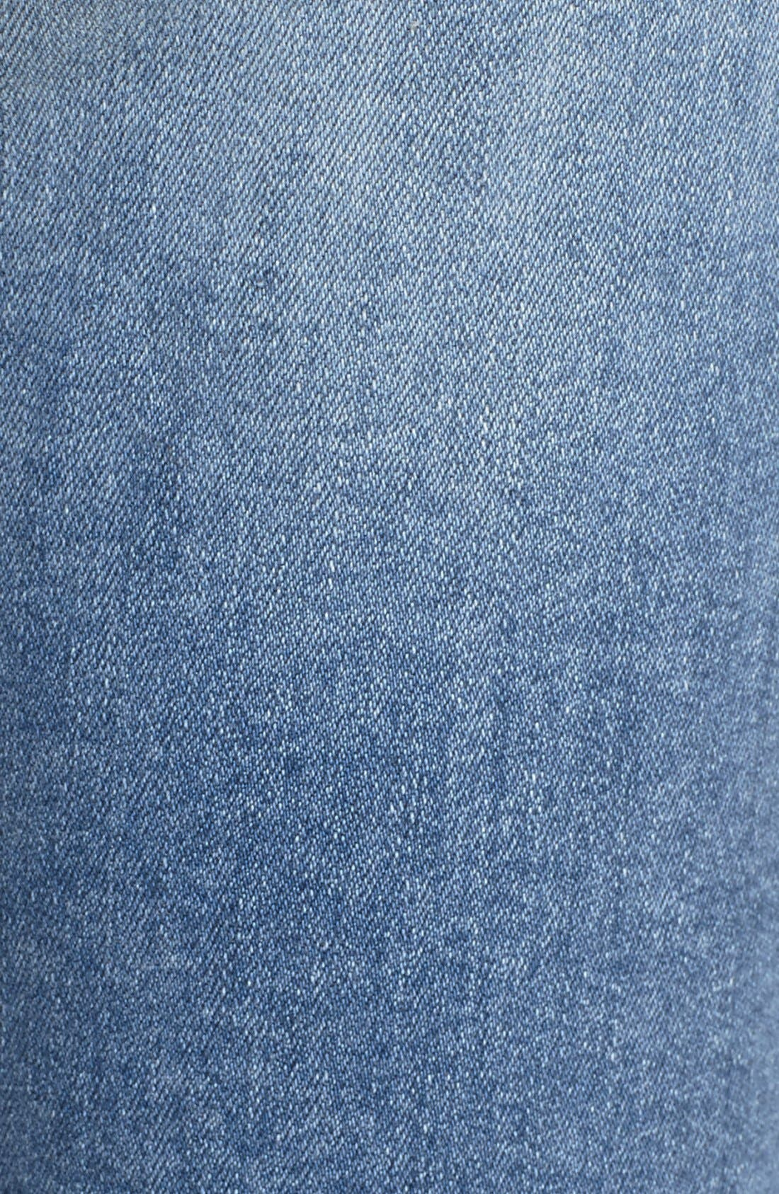 Alternate Image 6  - STS Blue Destroyed Crop Skinny Jeans (Topanga)
