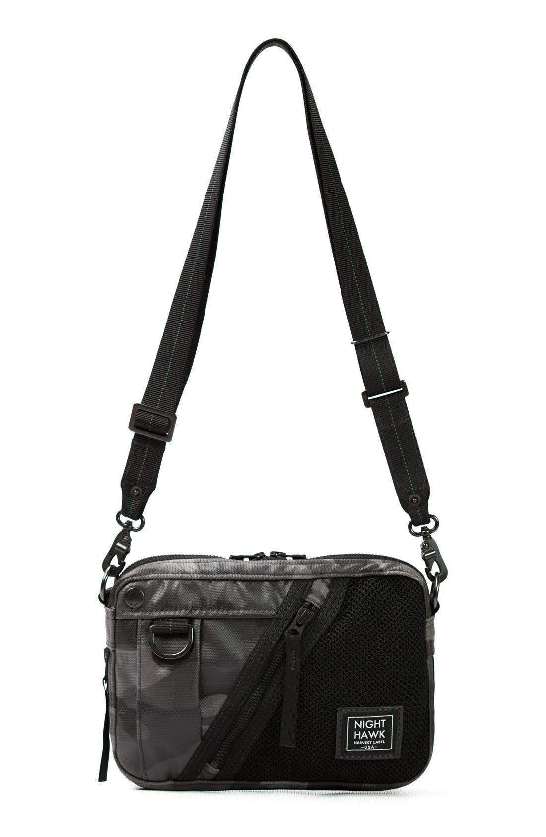 'NightHawk' Shoulder Bag,                         Main,                         color, Camo