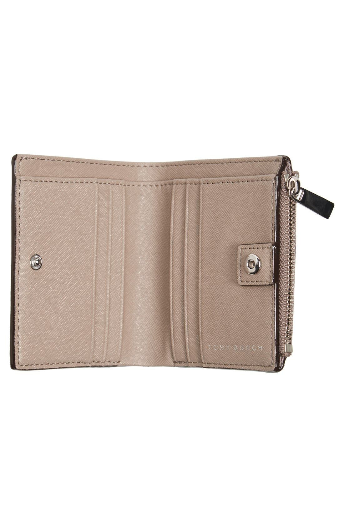 Alternate Image 2  - Tory Burch 'Mini Robinson' Leather Wallet