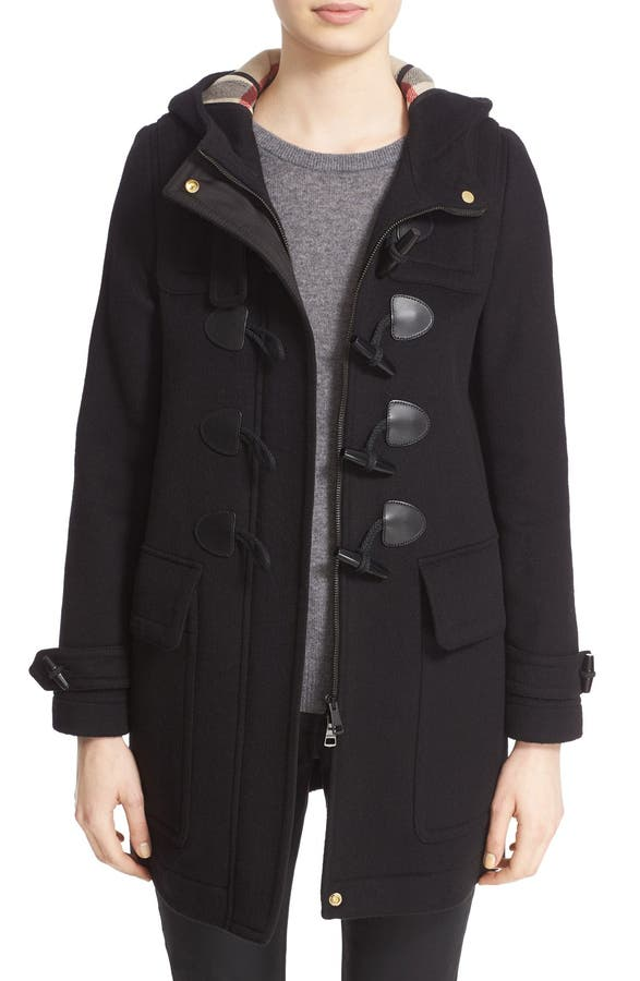 Burberry Brit Finsdale Wool Duffle Coat | Nordstrom