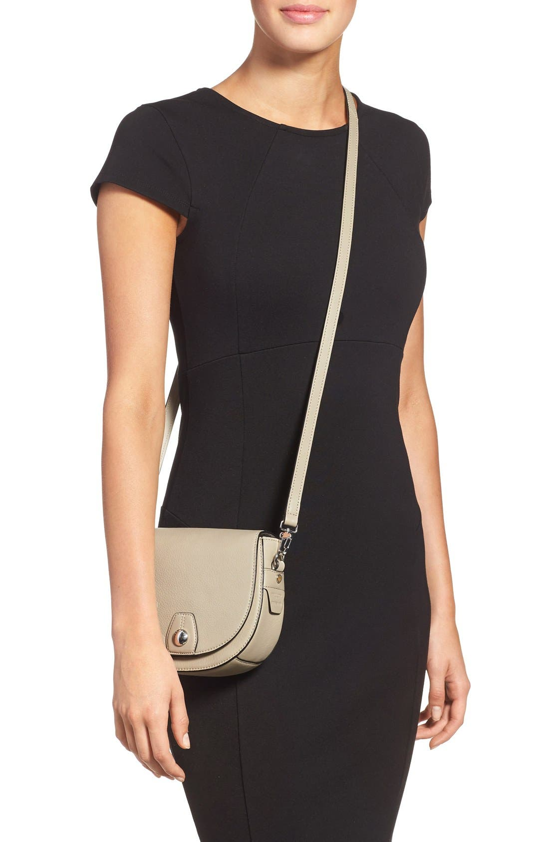 Alternate Image 2  - rag & bone 'Mini Flight' Leather Crossbody Saddle Bag