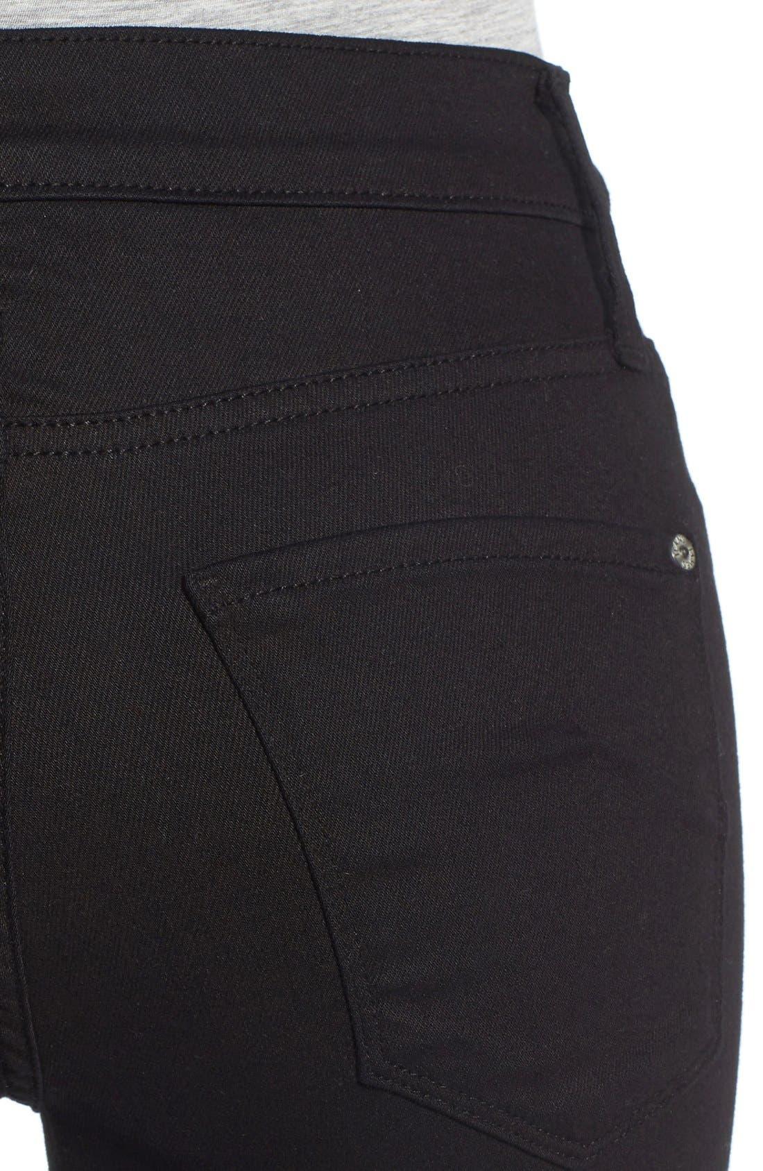 Alternate Image 4  - James Jeans Frayed Hem Flare Jeans