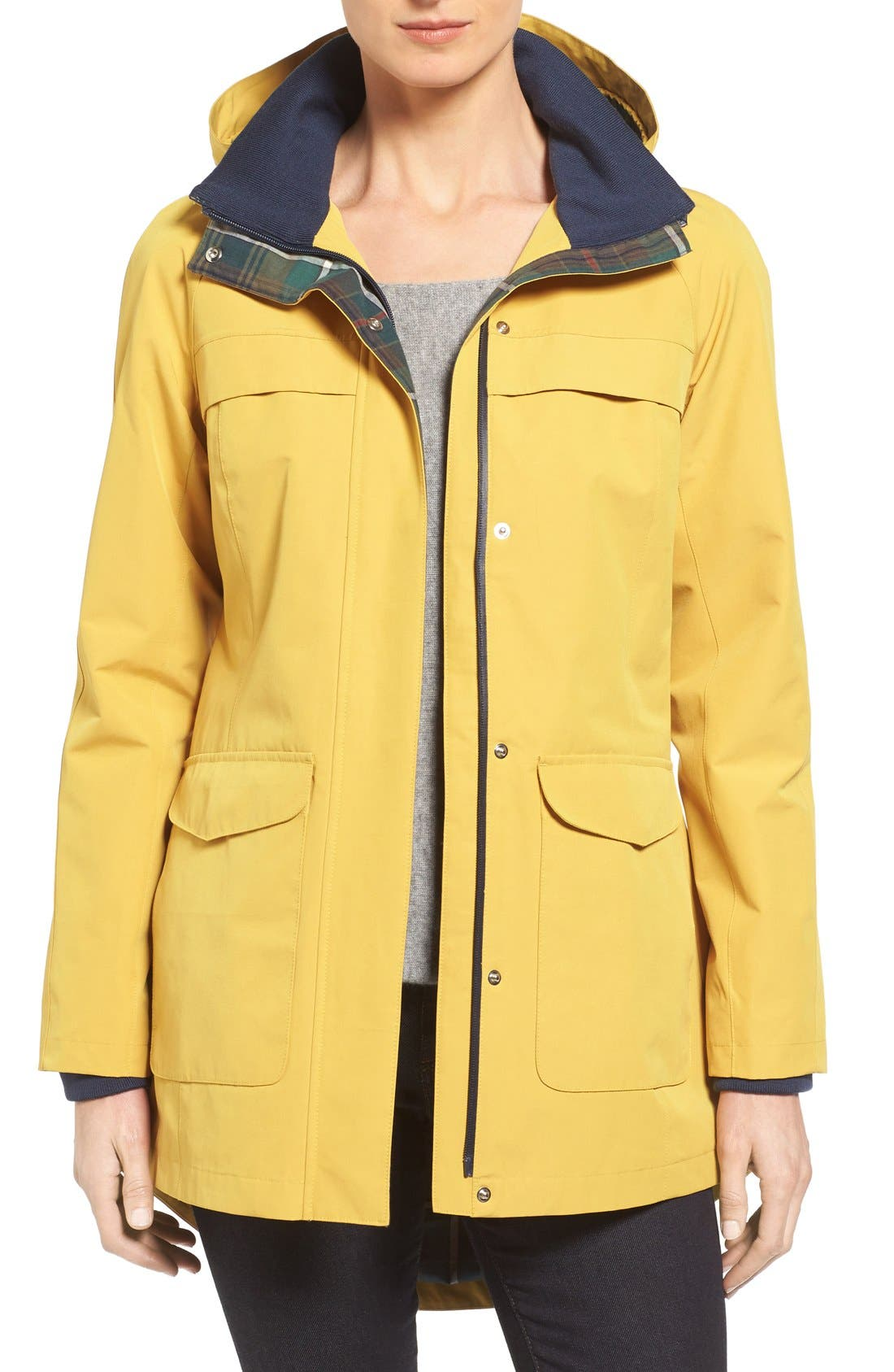 Alternate Image 1 Selected - Pendleton Hooded Raincoat