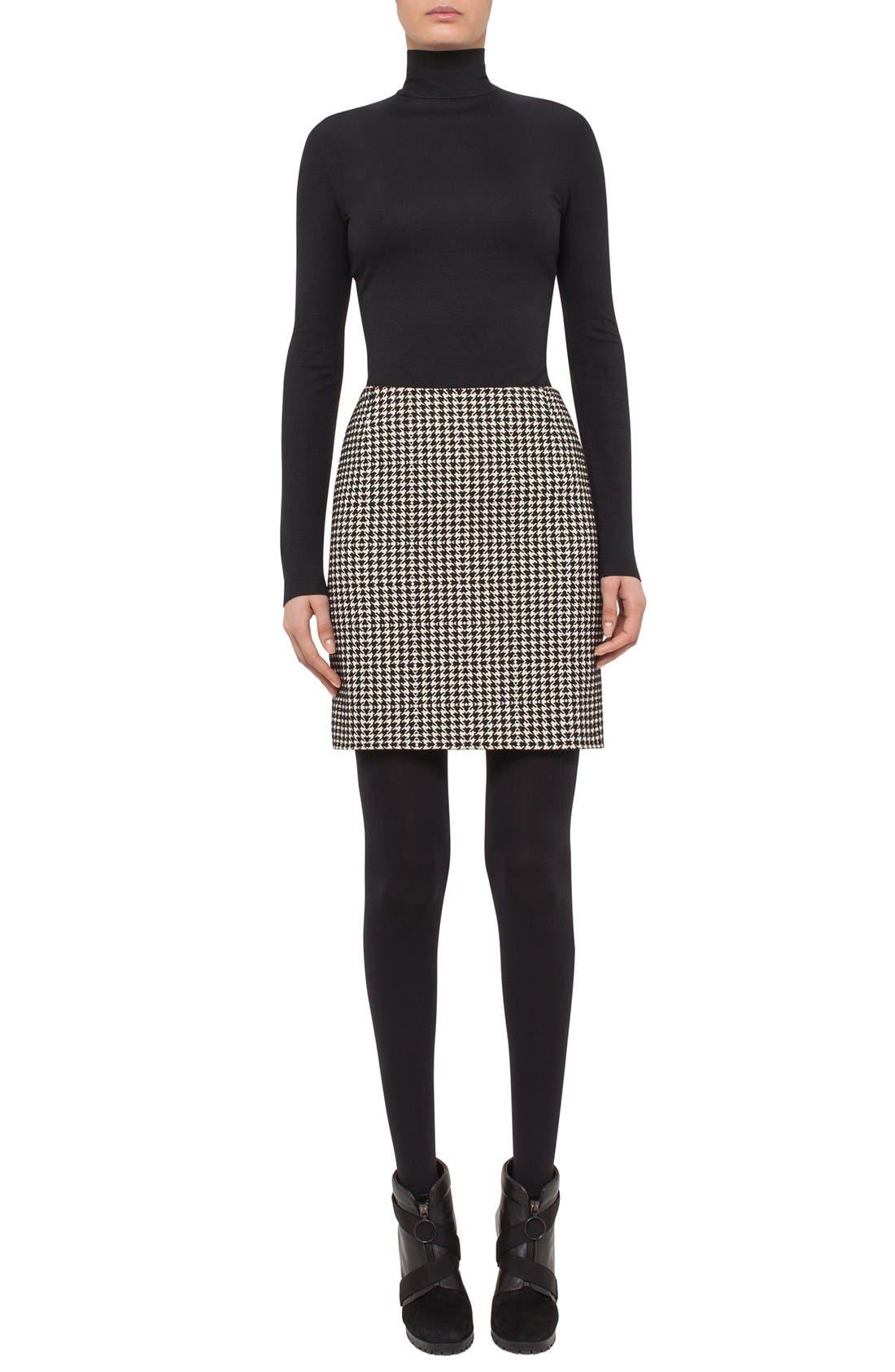 Alternate Image 3  - Akris punto Houndstooth Miniskirt