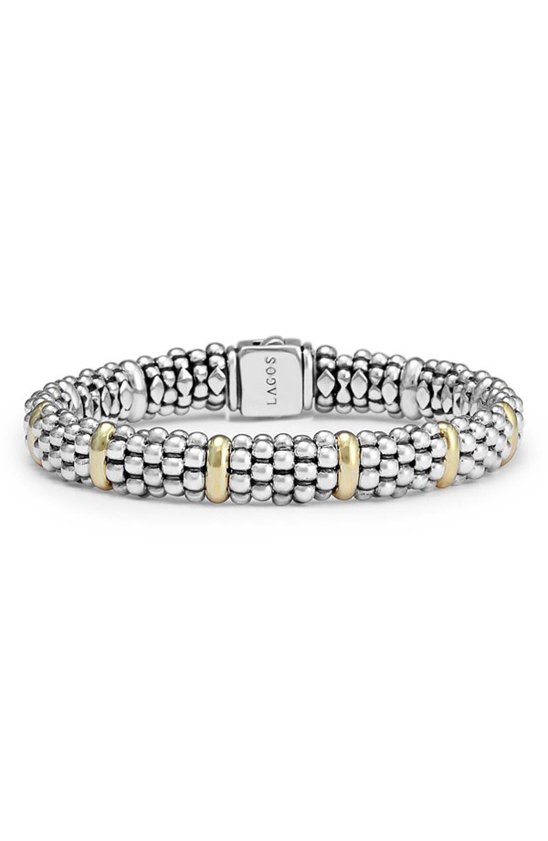 LAGOS Oval Rope Caviar Bracelet