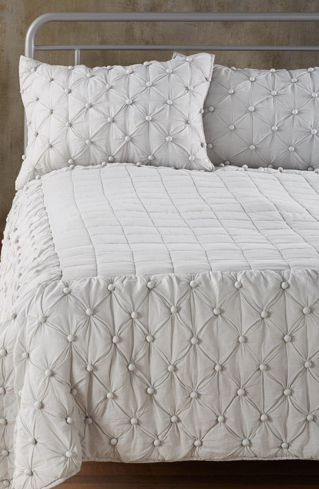 Chelsea Comforter,                         Main,                         color, Grey Vapor