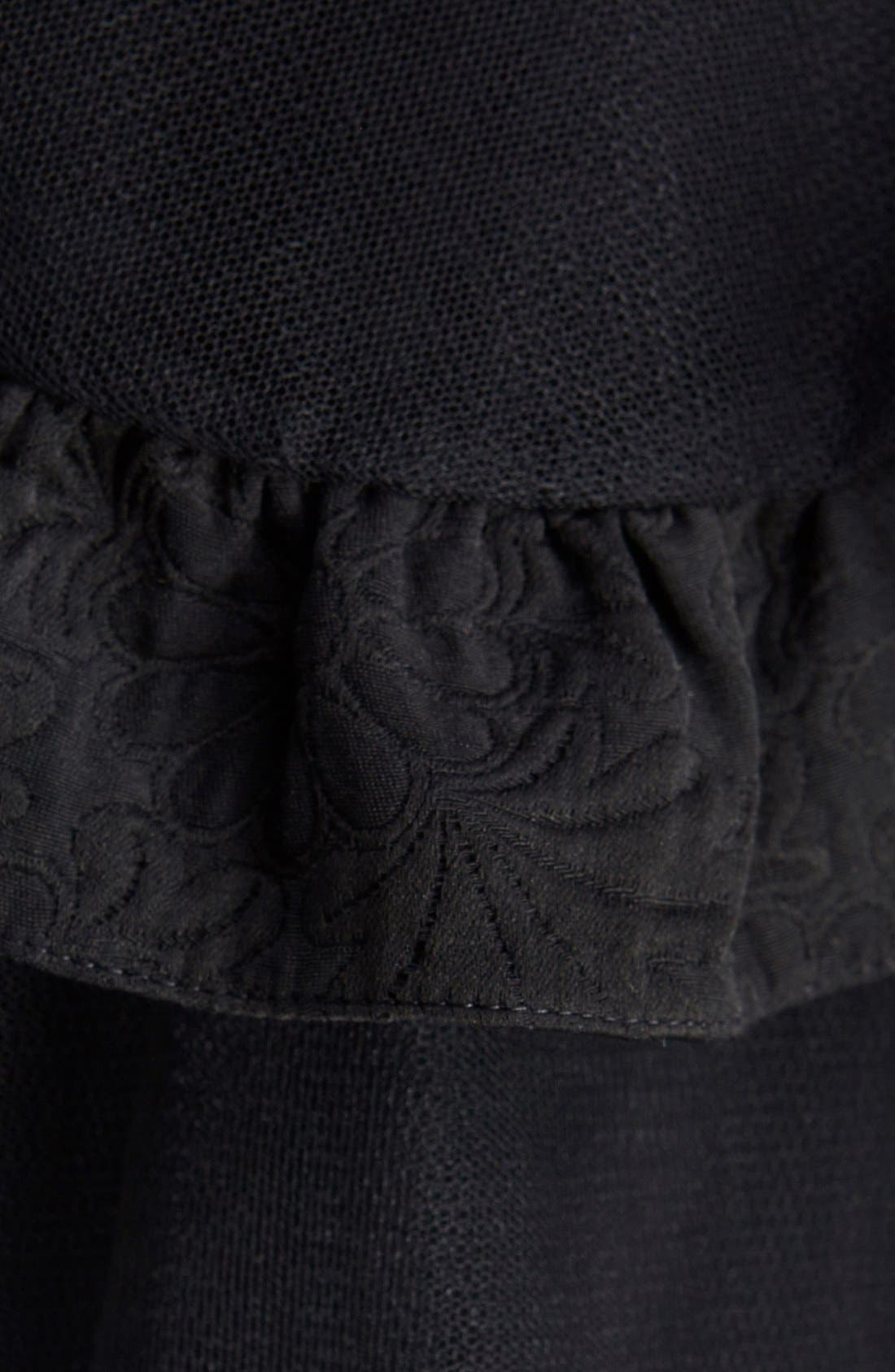 Alternate Image 3  - Simone Rocha Brocade Trim Tulle Skirt