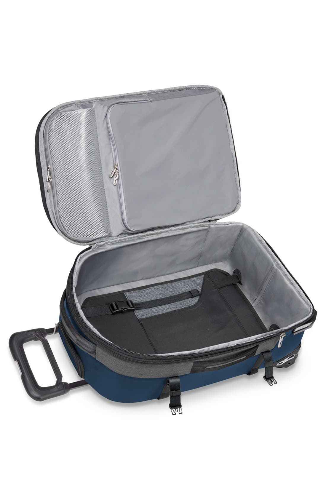 'BRX - Explore' Domestic Wheeled Carry-On,                             Alternate thumbnail 2, color,                             Blue