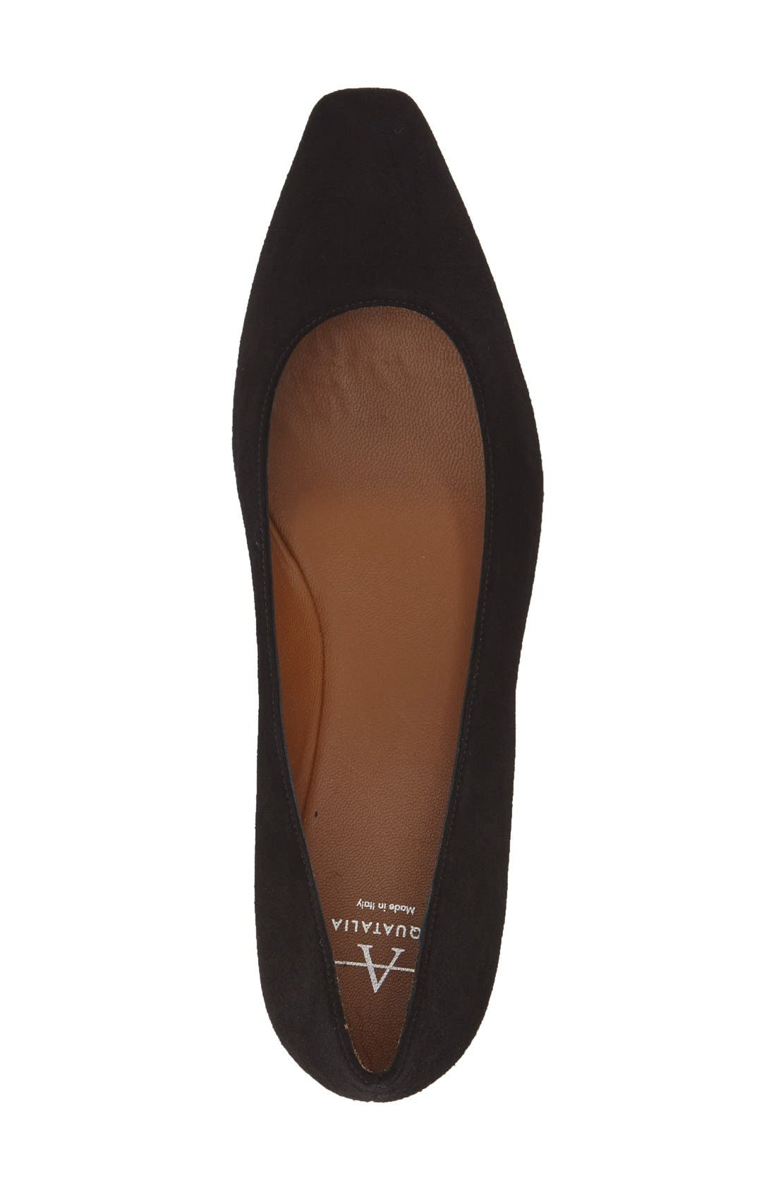 Alternate Image 3  - Aquatalia 'Marcella' Weatherproof Ballerina Flat (Women)