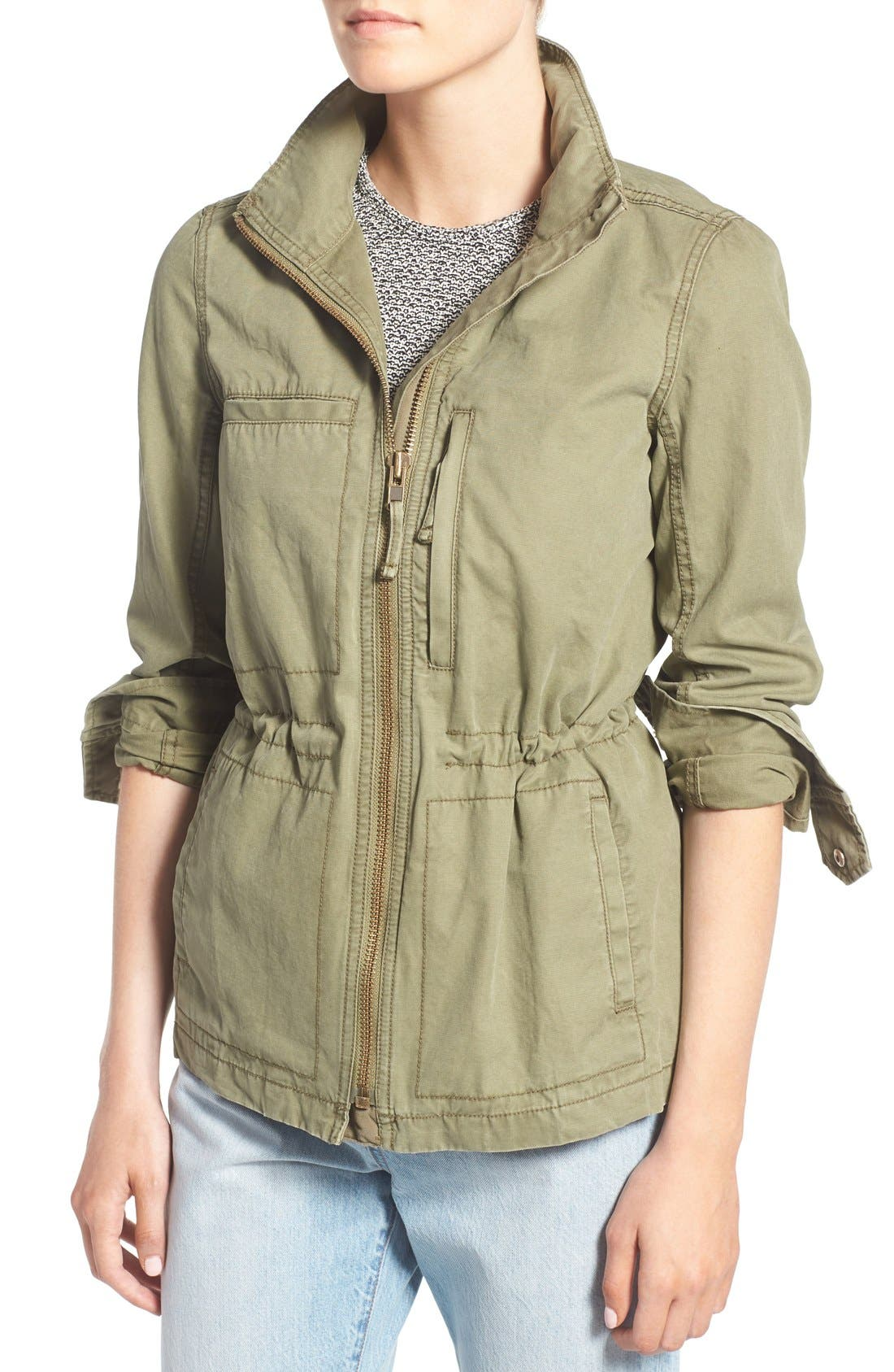 Alternate Image 4  - Madewell Fleet Jacket