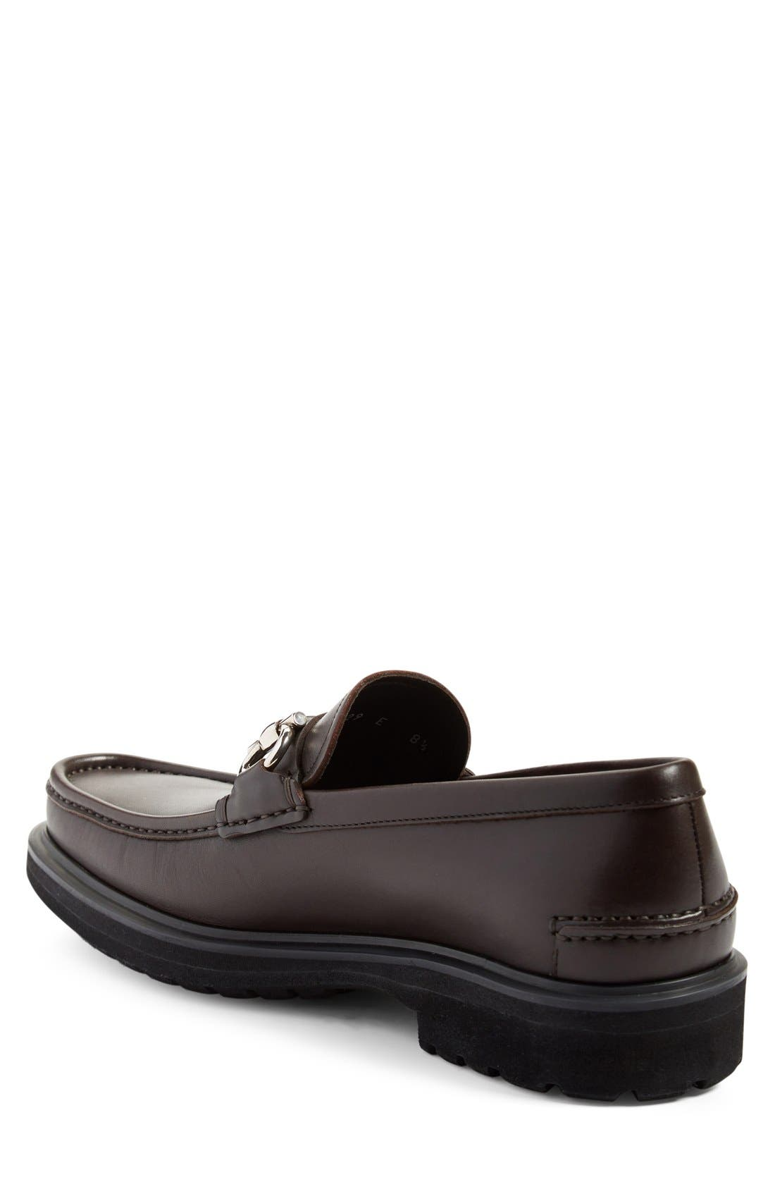 Glasgow Bit Loafer,                             Alternate thumbnail 2, color,                             Hickory