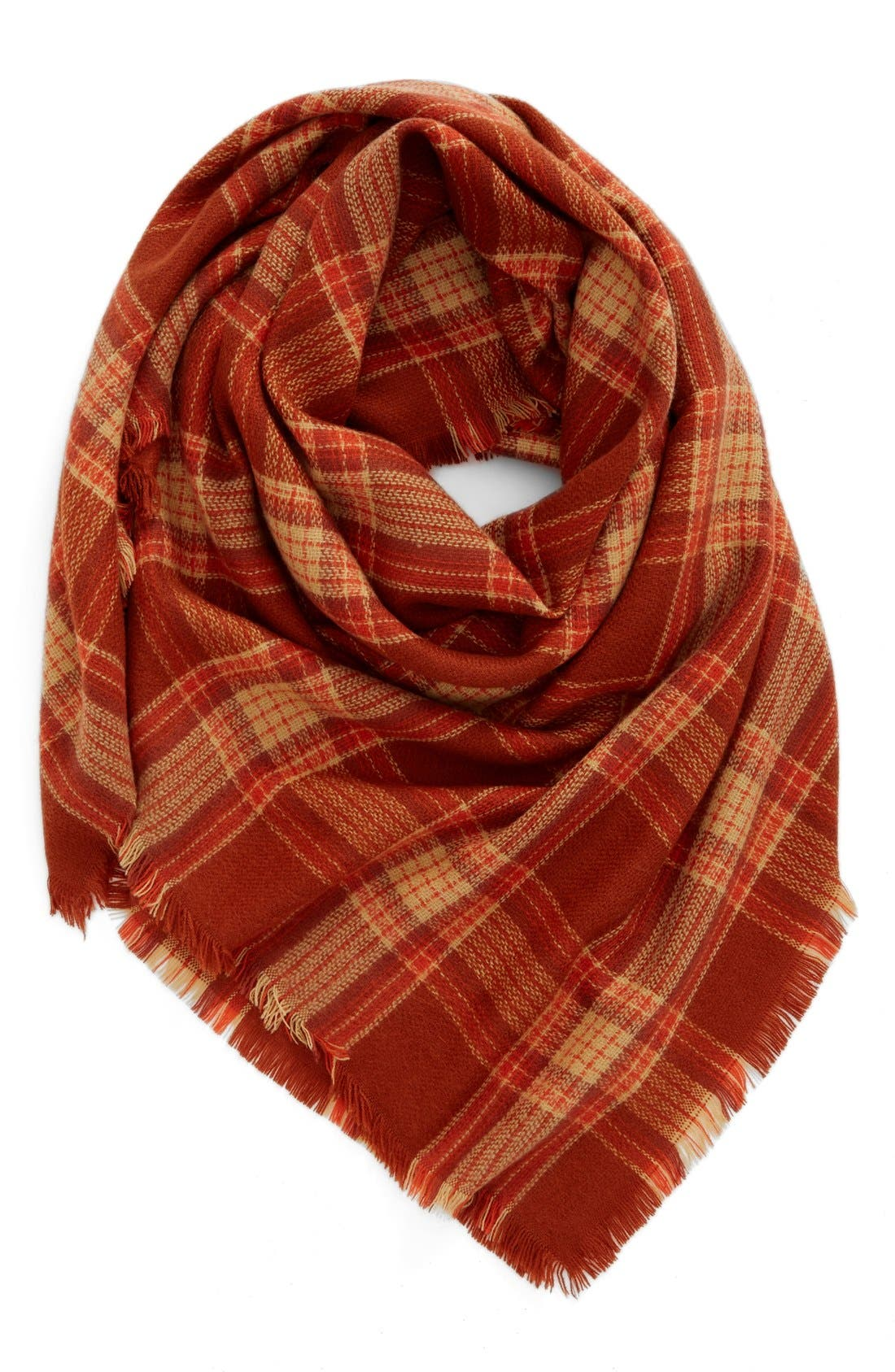 Alternate Image 1 Selected - BP. Plaid Square Scarf