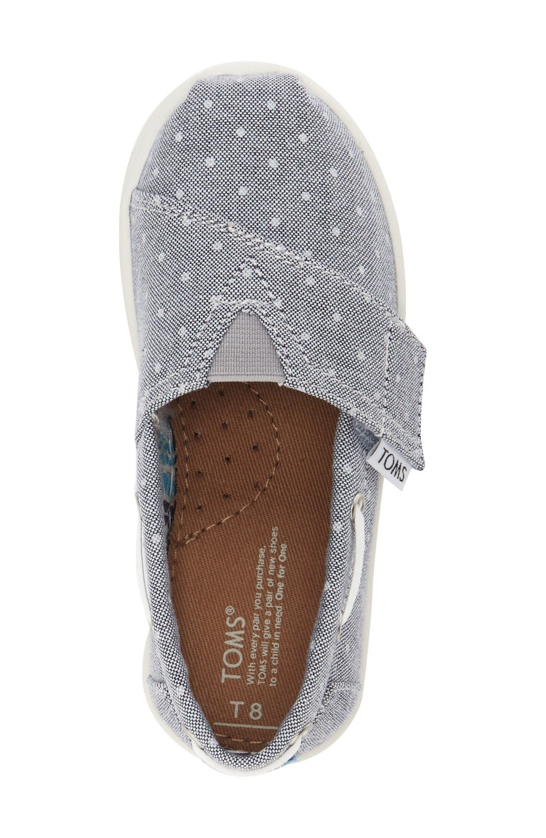 'Bimini - Tiny' Slip-On,                             Alternate thumbnail 5, color,                             Grey