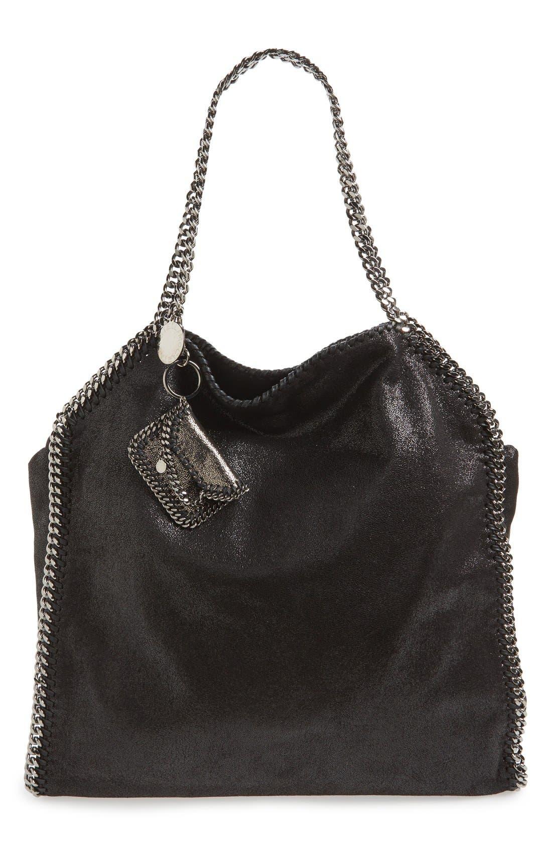 'Falabella' Bag Charm,                             Alternate thumbnail 2, color,                             Ruthenium