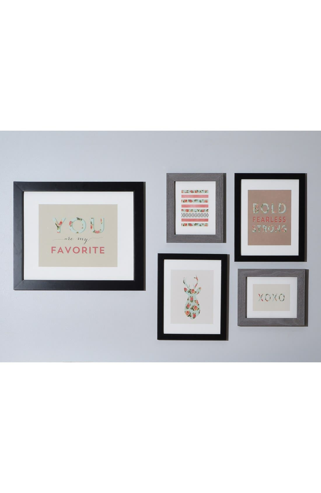 'You Are My Fave' Wall Art Gallery,                             Alternate thumbnail 3, color,                             White