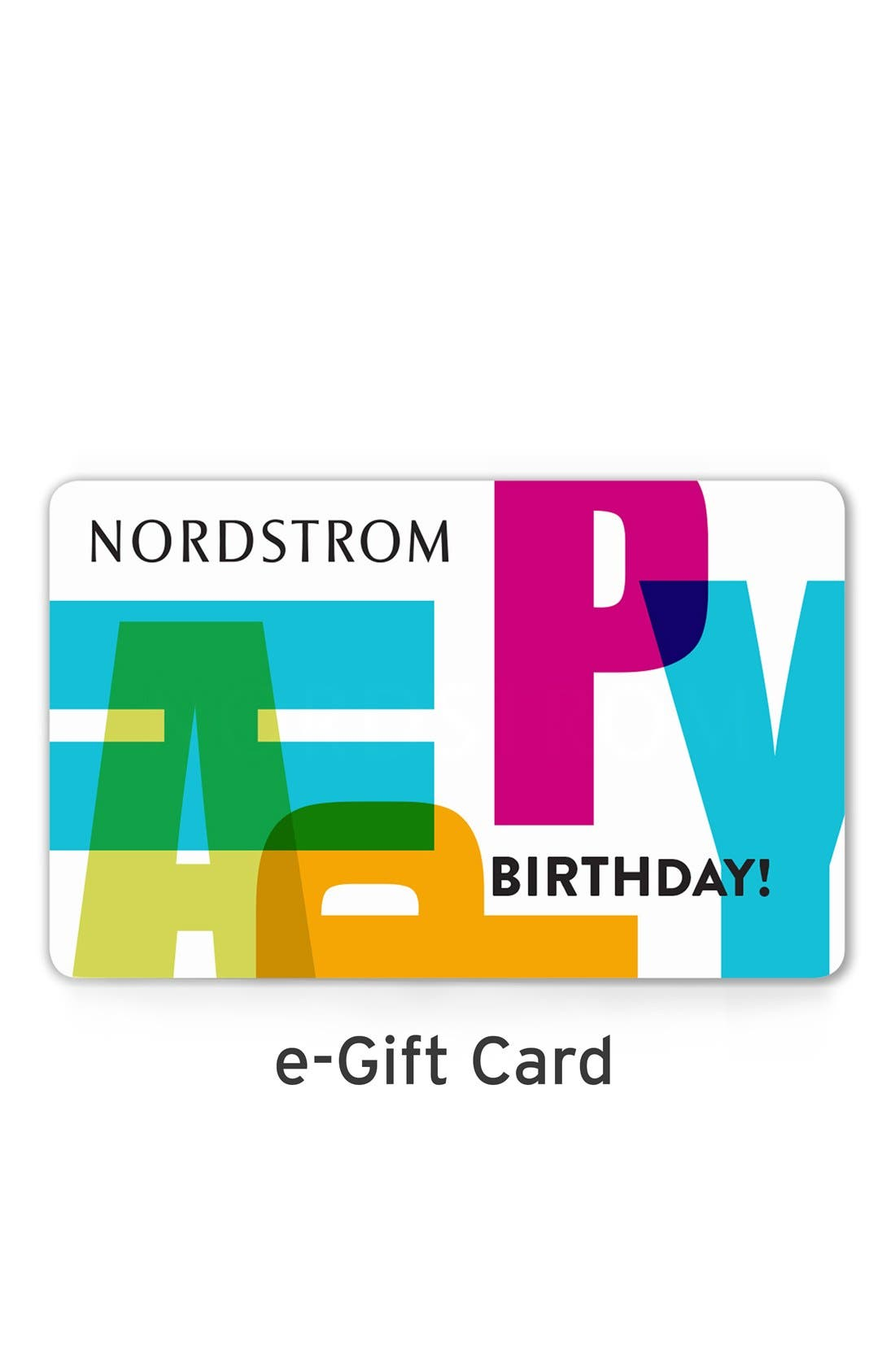 e-Gift Card Happy Birthday