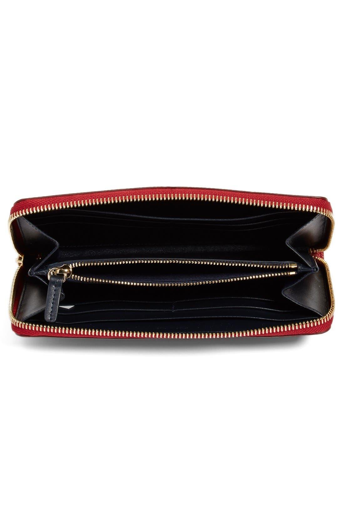Alternate Image 2  - Smythson 'Large Panama' Zip Around Wallet