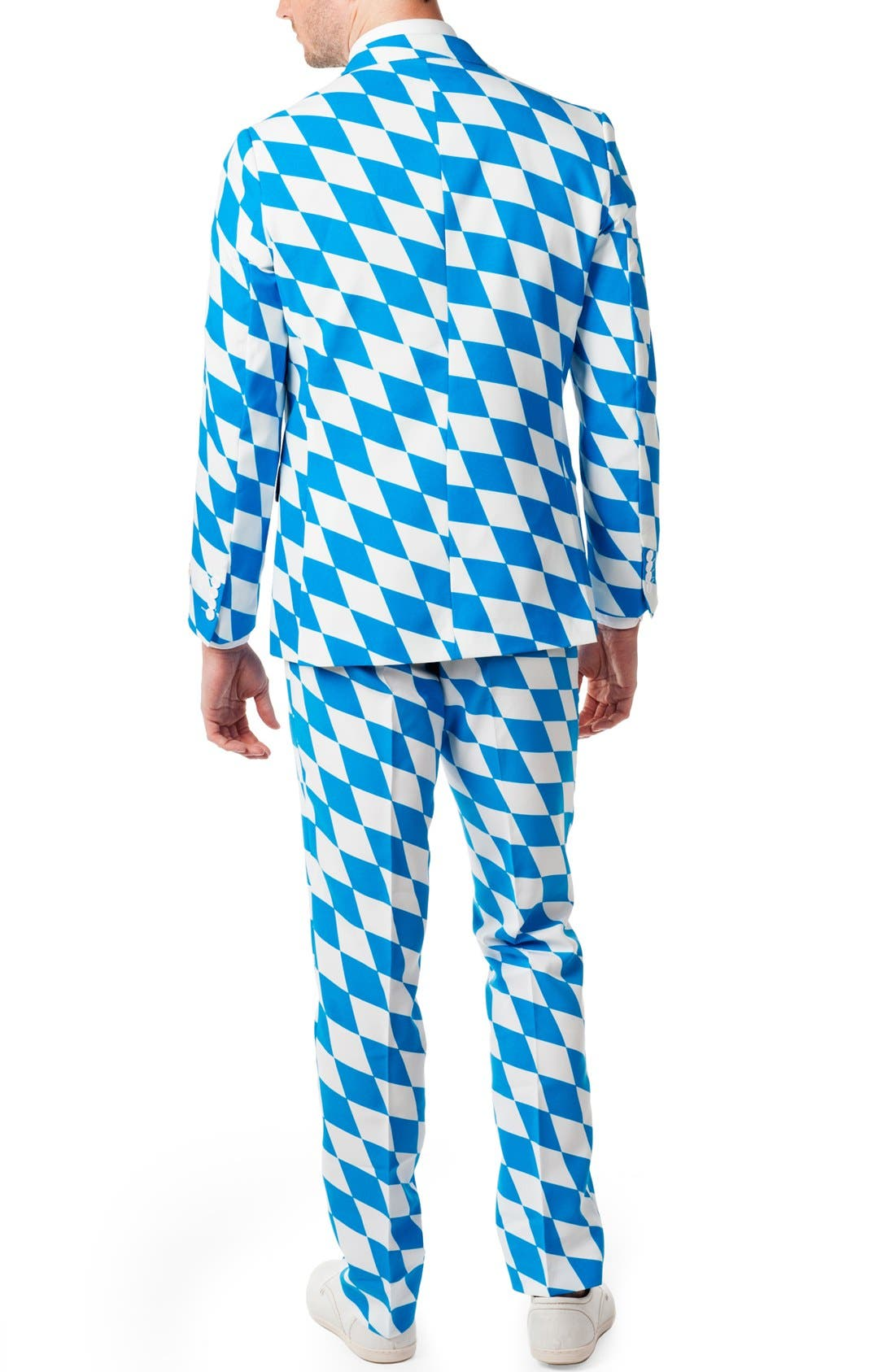 Alternate Image 2  - OppoSuits 'The Bavarian' Trim Fit Suit with Tie