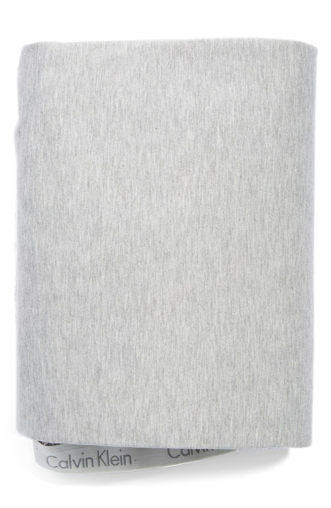 Calvin Klein Home Modern Cotton Collection Cotton & Modal Fitted Sheet