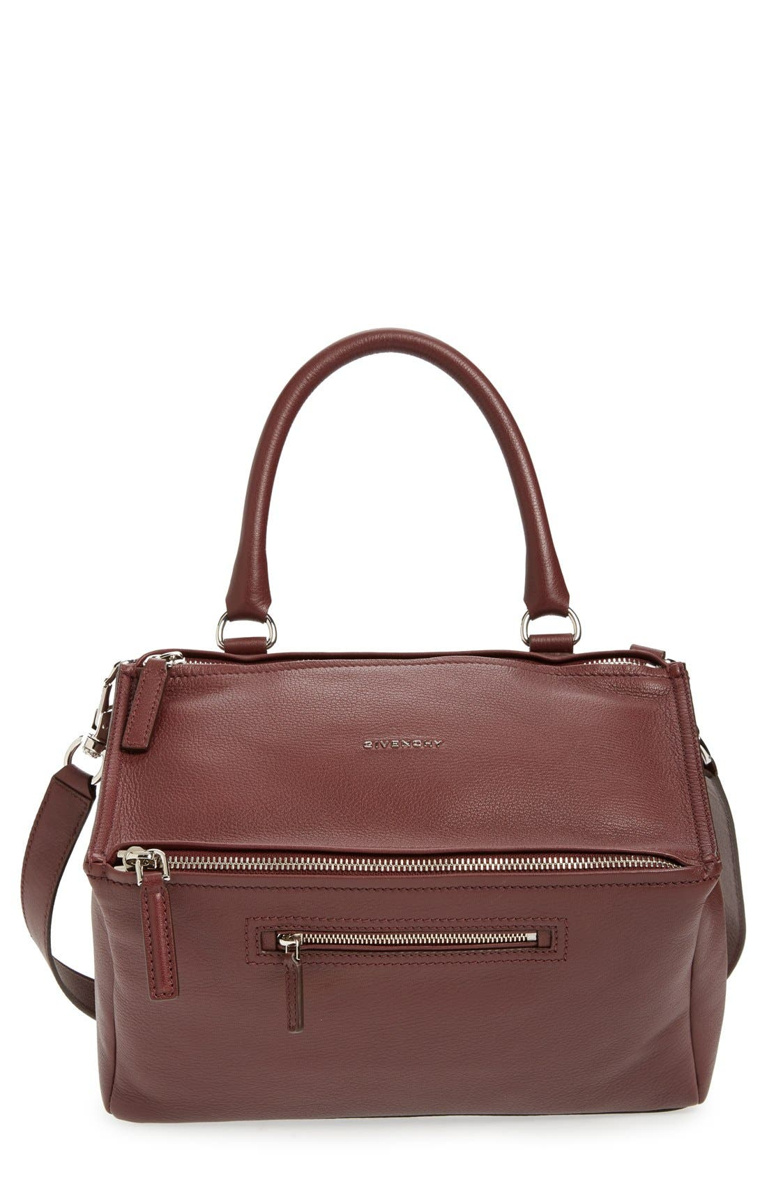 Alternate Image 1 Selected - Givenchy 'Medium Pandora' Sugar Leather Satchel