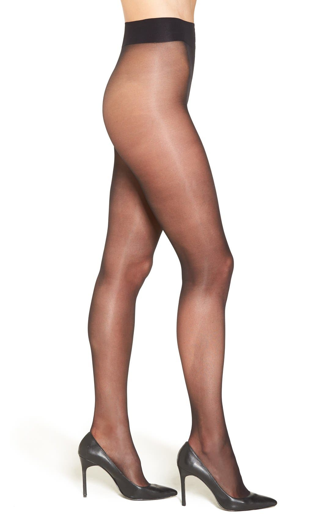 Alternate Image 1 Selected - Nordstrom Low Rise Sheer Pantyhose