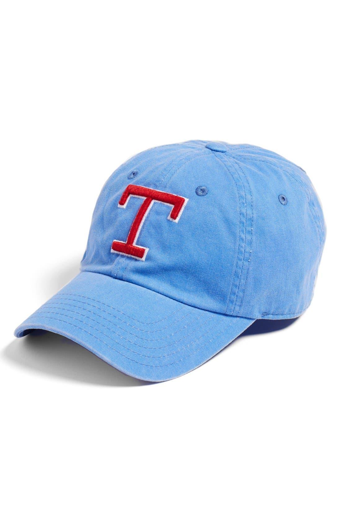 AMERICAN NEEDLE New Raglan Texas Rangers Baseball Cap