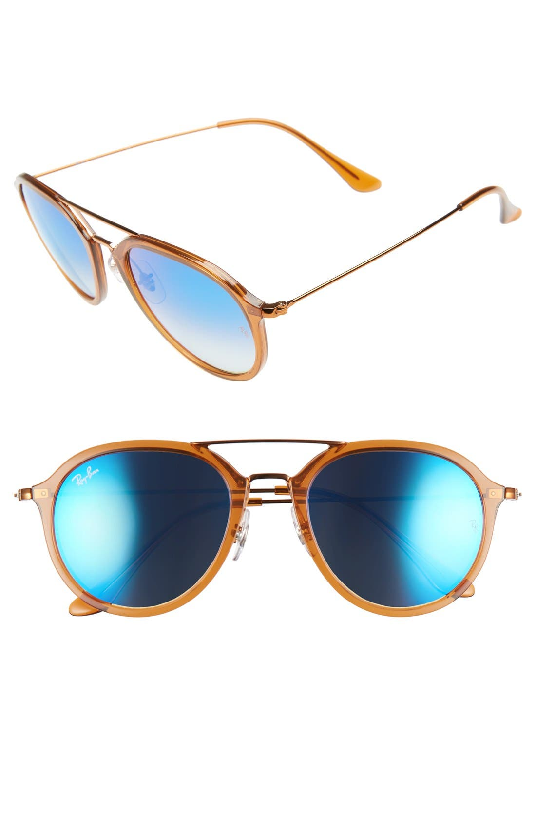 Main Image - Ray-Ban Youngster 53mm Aviator Sunglasses