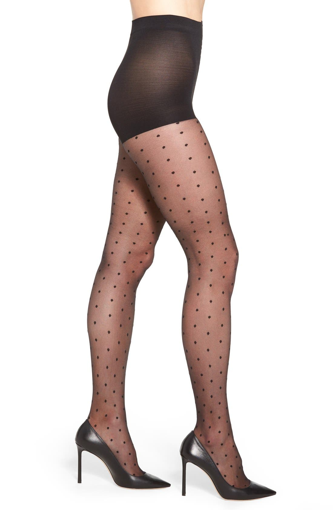Nordstrom Polka Dot Tights
