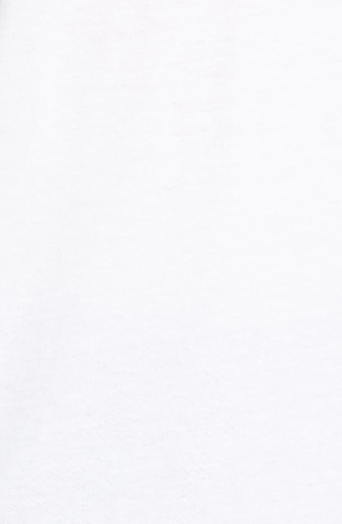 Crewneck T-Shirt,                             Alternate thumbnail 5, color,                             Optic White