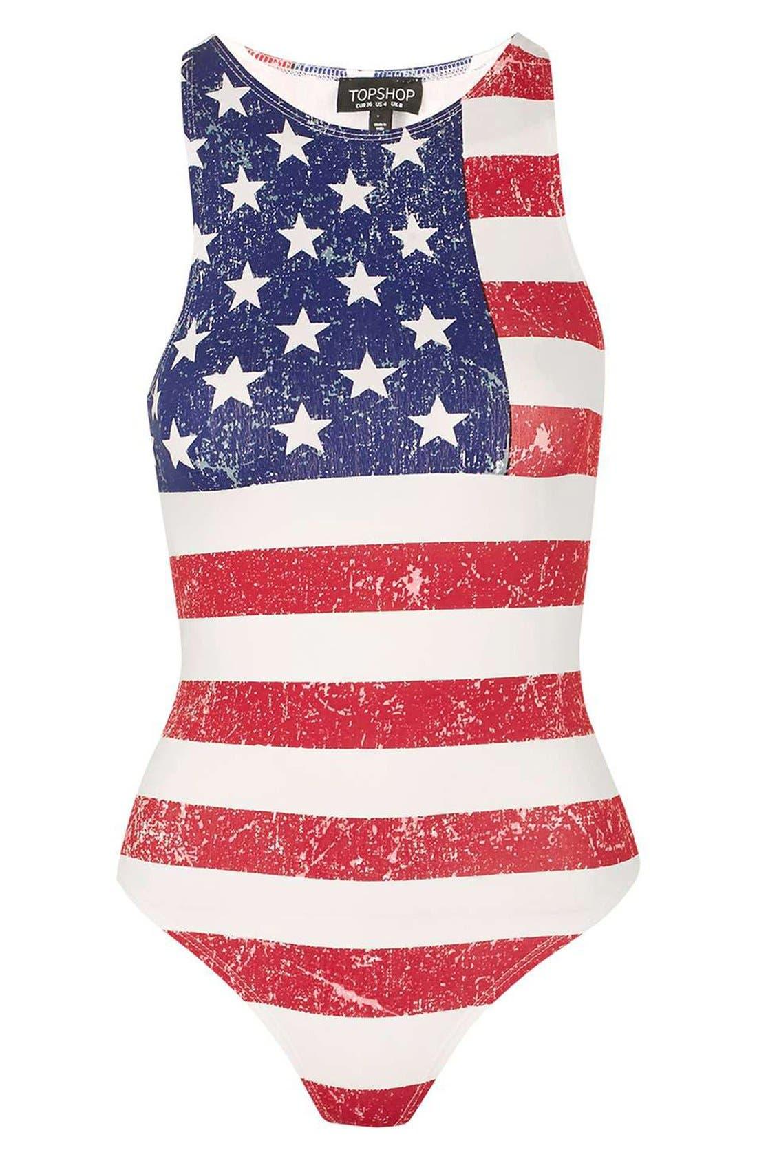 Main Image - Topshop 'Gigi' Thong Bodysuit