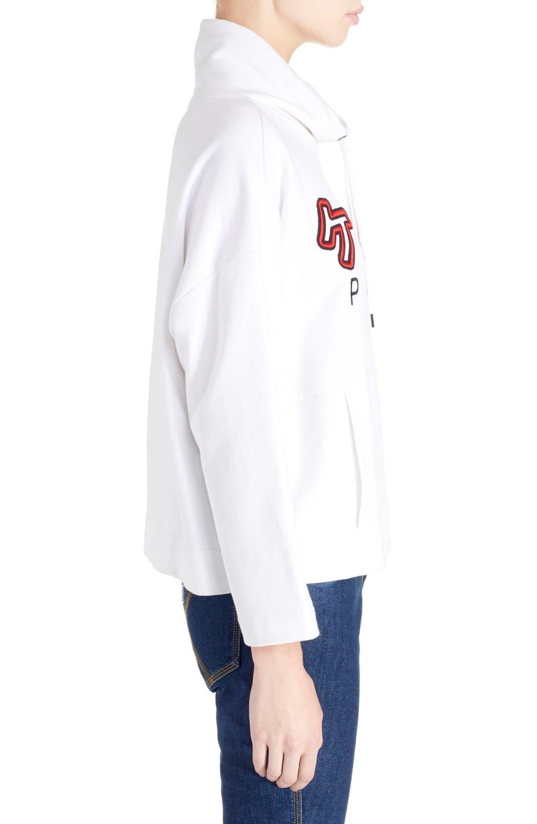 Alternate Image 3  - KENZO Brushed Cotton Molleton Sweatshirt