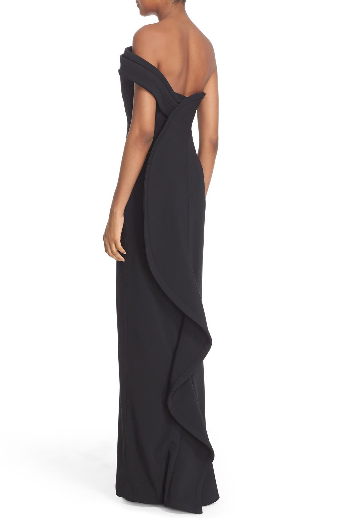 Alternate Image 5  - Brandon Maxwell 'Cady' Off the Shoulder Column Gown