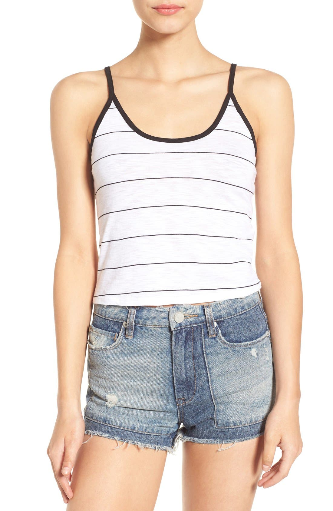 Alternate Image 1 Selected - Michelle by Comune Stripe Tank