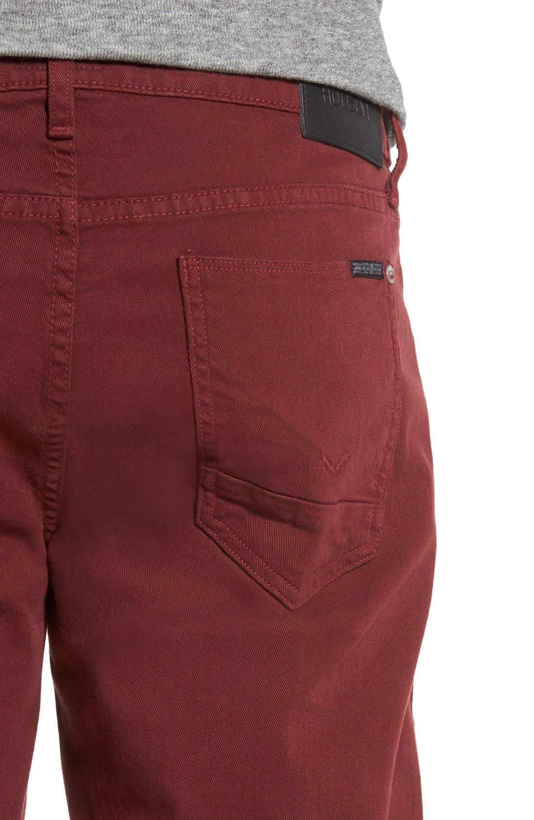 Alternate Image 4  - Hudson Jeans 'Byron' Slim Straight Leg Jeans