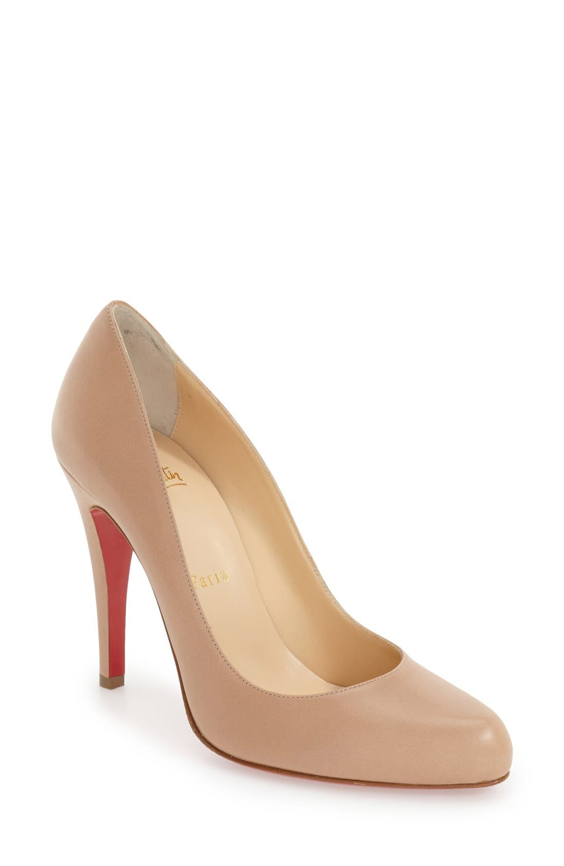 Décolleté 868 Pump,                         Main,                         color, Nude Leather