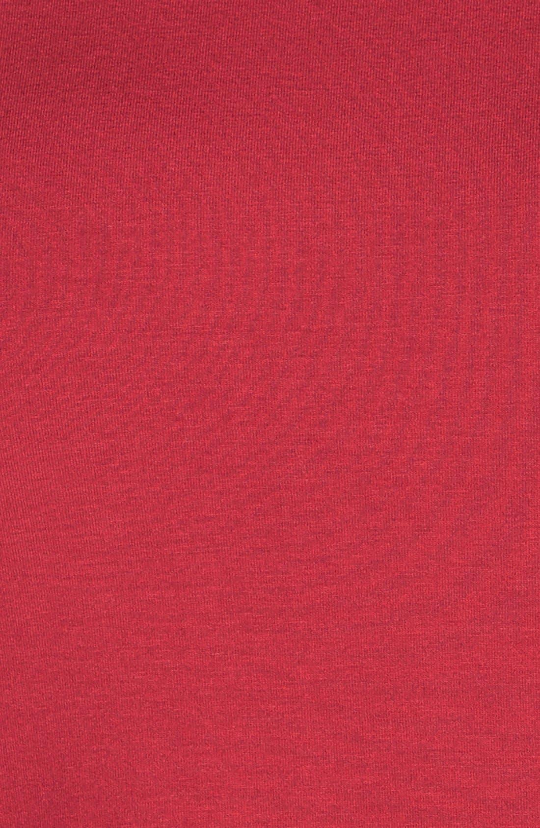 Alternate Image 6  - Eileen Fisher Bateau Neck Cap Sleeve Dress (Plus Size)