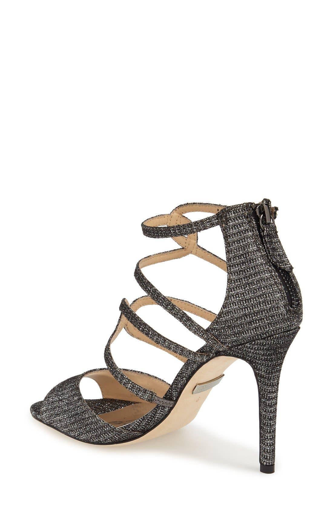 Alternate Image 2  - Badgley Mischka 'Devon' Strappy Sandal (Women)