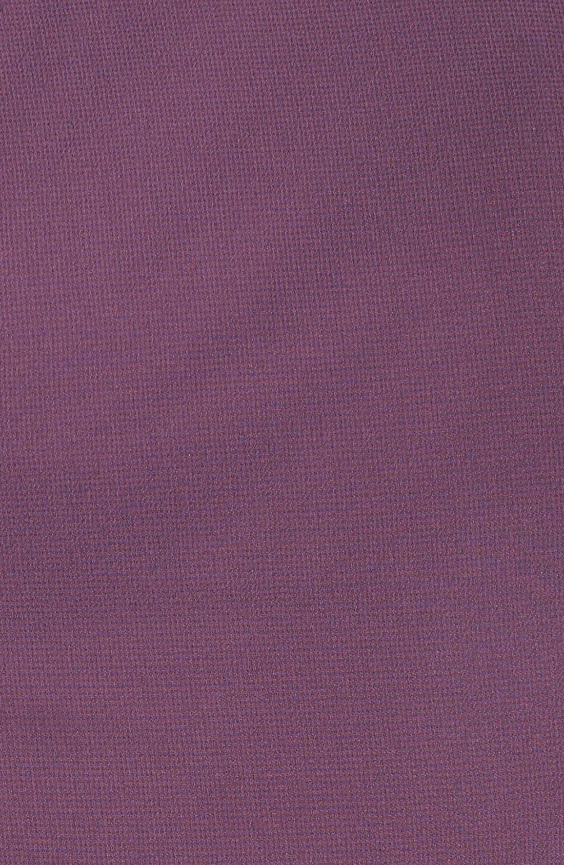 Cross Neck A-Line Chiffon Gown,                             Alternate thumbnail 5, color,                             Dusty Purple